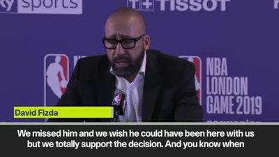 'We missed Enes Kanter' - New York Knicks head coach David Fizdale
