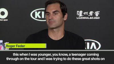 'The lights are on green' Federer