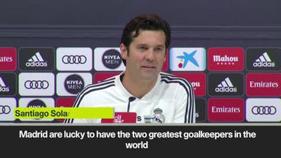 We have the 2 greatest keepers in the world' Solari