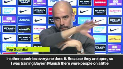 """""""Everybody does it"""" Spying is endemic says Guardiola"""