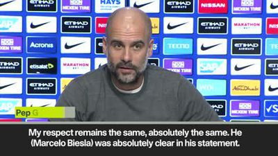 'My respect for him is the same' Guardiola on 'Spygate' Bielsa