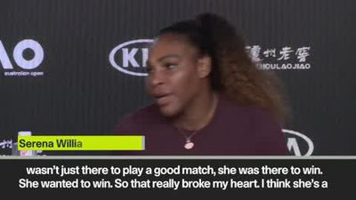 'That really broke my heart' Serena after her win & Osaka