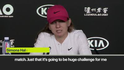 'I am not intimidated' Halep on Serena