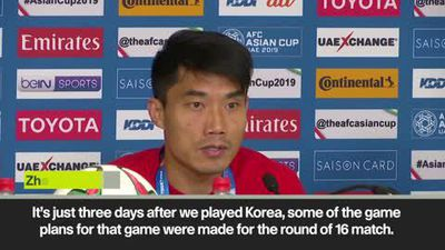 China captain - we expect to win