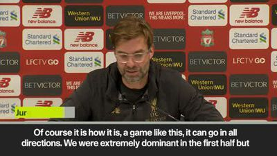 Klopp 'relief' after 4-3 win over Palace