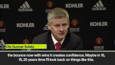 Solskjaer - I don't care about records as Manchester United win 7 in row