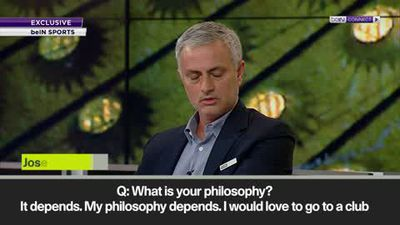 Mourinho defends philosophy
