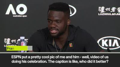 "LeBron James ""knows who I am now"" says Tiafoe after celebrating win with 'The Silencer'"