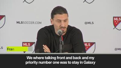 Ibrahimovic vows to right the wrongs of last season as he sets about winning the MLS title with L...