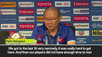 Vietnam manager slams critics after they reach last 16