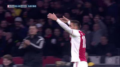 Ajax draw 4-4 with Heerenveen in crazy Dutch Eredivisie match
