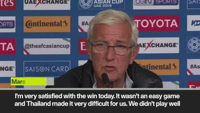 Lippi - it was a great performance as China go through