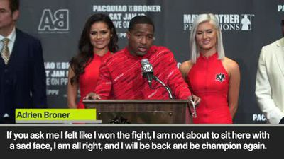 Broner - I feel I won the fight against Pacquiao