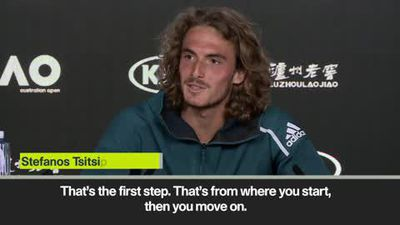 'Semifinal is only a start' Tsitsipas