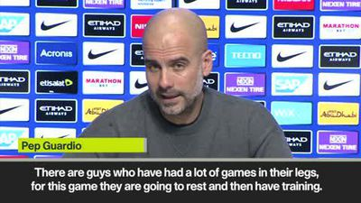 Guardiola will put out first team players against Burton