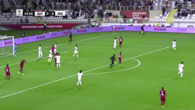 Qatar beat Iraq 1-0 to reach the AFC Asian Cup quarter-finals