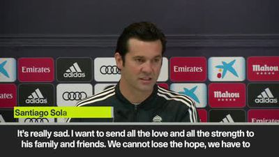 Solari 'I send our love and strength' to Sala's family
