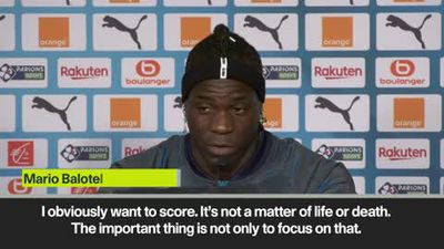 Balotelli says goals 'not life and death' after signing for Marseille