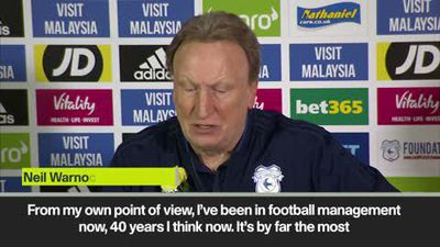 'I'd rather have Sala and be relegated' - Warnock reflects on most difficult week of career