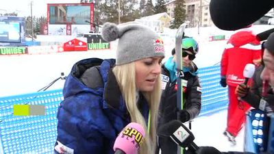 Vonn calls for 'alcohol immediately' after winning bronze in final race of career