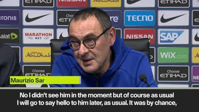Sarri explains handshake snub as Guardiola dismisses controversy