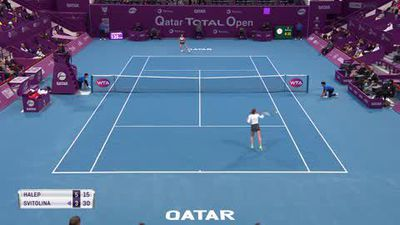Halep and Mertens win to reach Qatar Open final