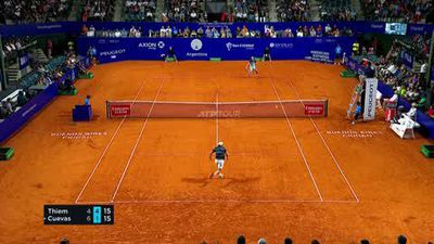 Thiem & Schwartzman through to Argentina final