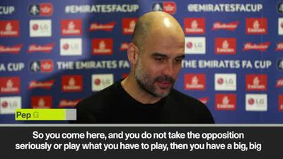 Guardiola - sometimes easier to play Chelsea or Arsenal than Newport in FA Cup