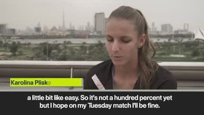 Pliskova hopes to show good tennis in Dubai