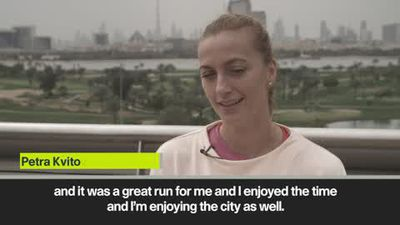 Kvitova happy to be back to Dubai