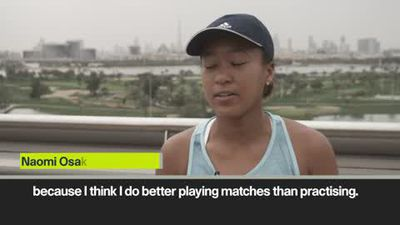 Osaka enjoys being World No 1