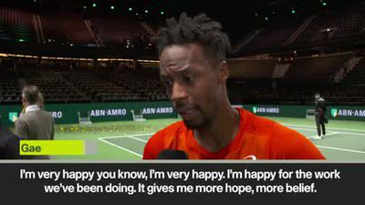 Monfils 'gains belief' following ATP tournament victory in Rotterdam