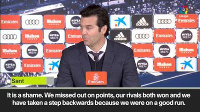 Solari denies La Liga title race is over after Real Madrid suffer shock home loss to Girona