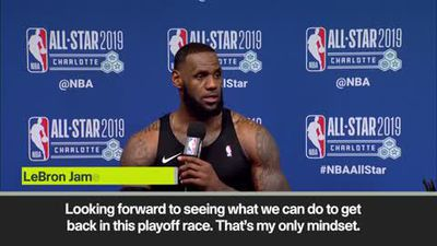 LeBron James on injury recovery and competing against the best