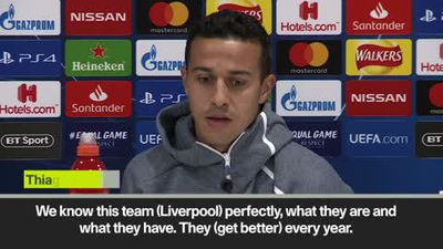 Anfield crowd will be a factor - Thiago