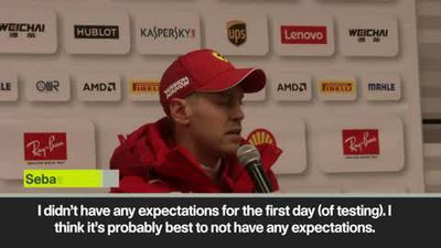 Testing was 'close to perfect' - Vettel