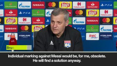 Lyon boss discusses Messi threat