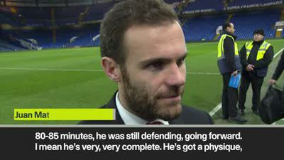 Mata hails 'very complete' Pogba after Man Utd's FA Cup win