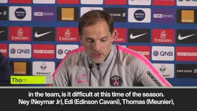 'It's not easy without key PSG players' Tuchel
