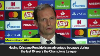 'Ronaldo gives Juve advantage' Allegri