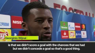 'We could have scored at least one' Wijnaldum