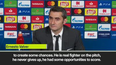 'I'd be worried if Suarez will not have chances' Valverde