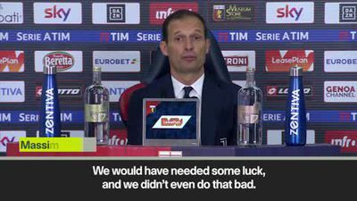 'God' couldn't have saved Juventus against Genoa says Allegri after resting Ronaldo