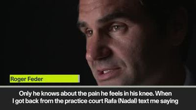 Federer reveals Nadal text message after opponent dropped out
