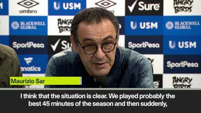 Sarri on top four chances and mental block for Chelsea