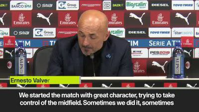 Spalletti hails Inter great character after derby win