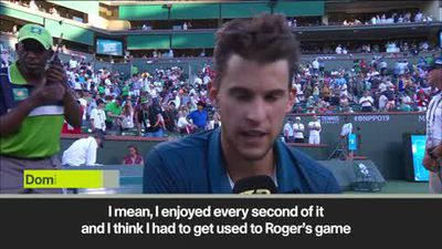 'It's unreal' Thiem on beating Federer in Indian Wells final