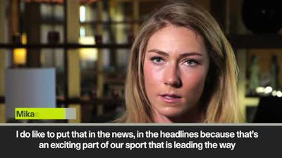 Skiing leading the way for equality says top earner Shiffrin