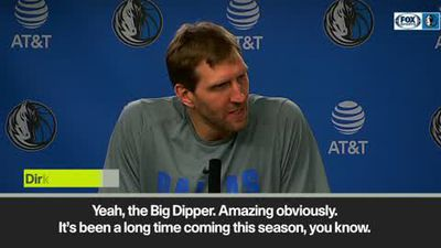 'My kids fave player Kleber' Nowitzki after passing Chamberlain for 6th all-time scorer