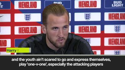 'England youngsters fearless' Kane